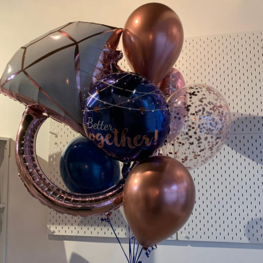 Helium Balloons and bouquets